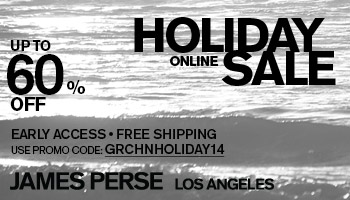 james perse sale coupon code