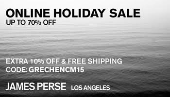 james perse cyber monday coupon code